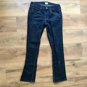 Hudson Byron 5 pkt straight zip fly jeans size 30